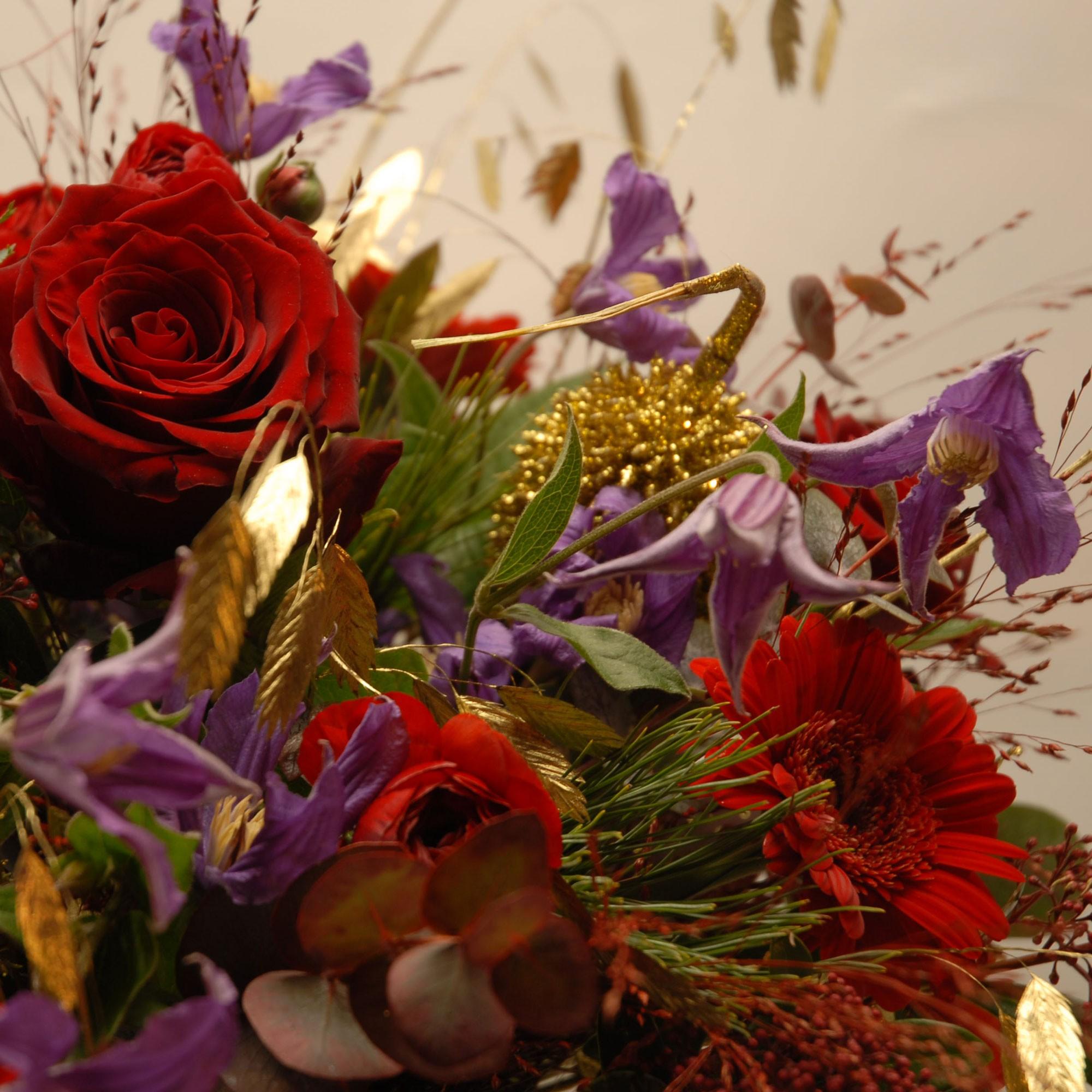 Bouquets de fleurs | Fleurs de saison ou exotiques