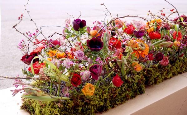 Composition florale obseques_couvre cercueil_Bouvard Fleurs