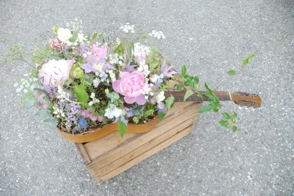 Composition florale obseques_original_Bouvard Fleurs