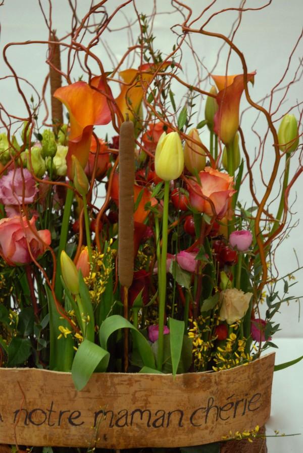 Composition florale obseques_paysage_Bouvard Fleurs