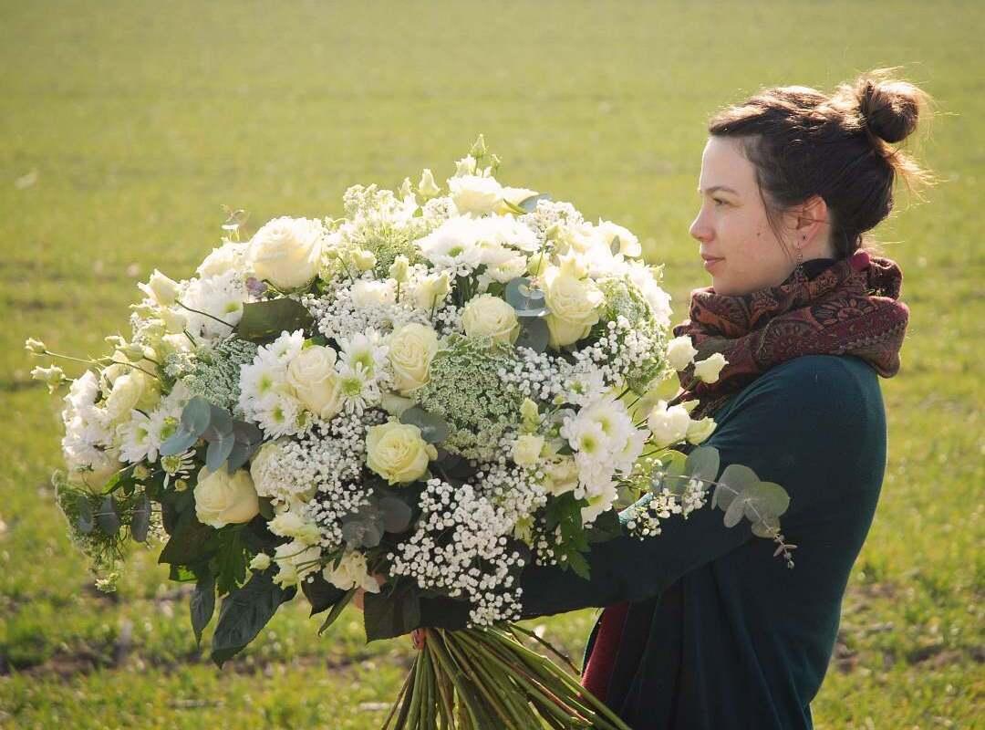 Héloïse - Responsable : mariage, administration et cours d'Art floral