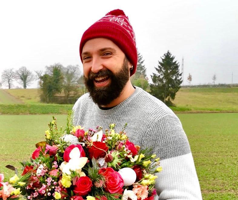 Romain - Responsable : mariage, administration et cours d'Art floral